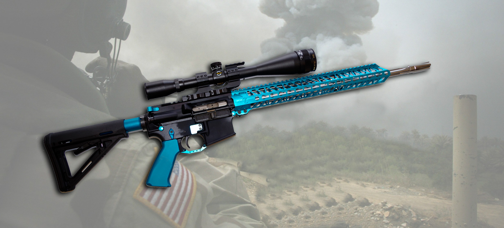 ar15-anodized-teal-blue-gun