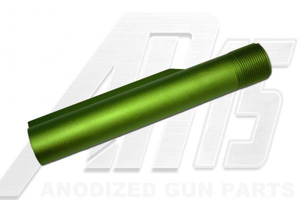 ar15-green-anodized-ar-15-buffer-tube