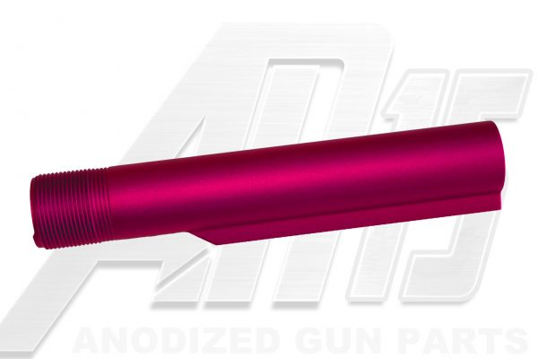 pink-anodized-ar-15-buffer-tube