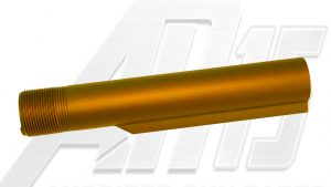 orange-anodized-ar-15-buffer-tube