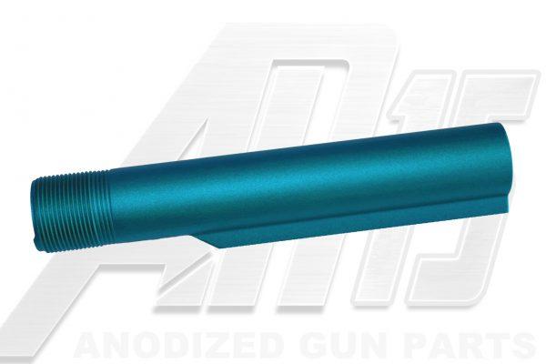 ar15-teal-anodized-ar-15-buffer-tube
