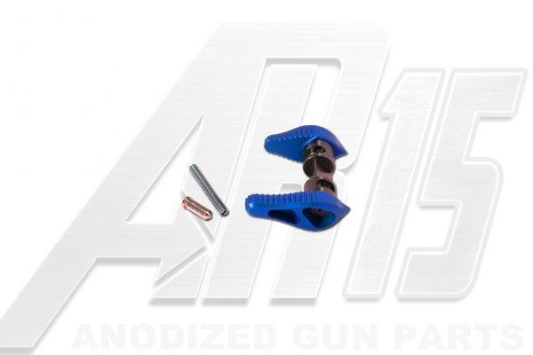 Blue Anodized AR15 Ambidextrous Safety