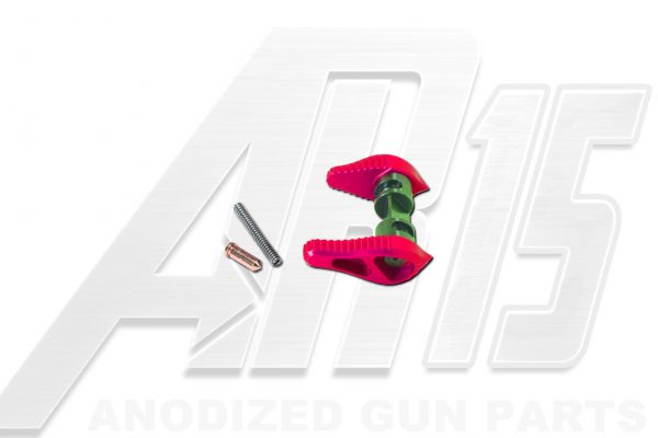 Pink Anodized AR15 Ambidextrous Safety