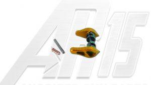 Orange Anodized AR15 Ambidextrous Safety