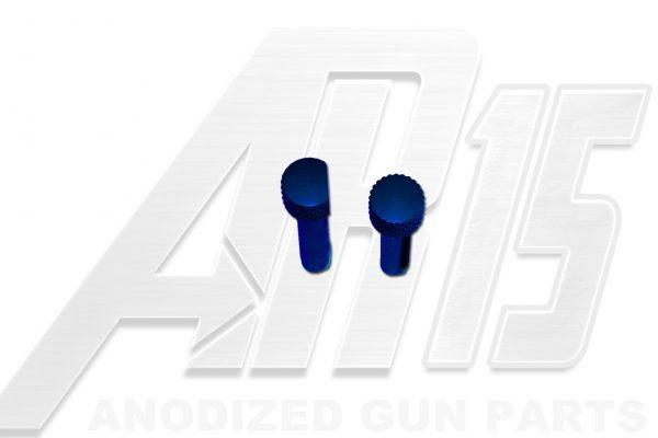 Blue Anodized AR15 Pins