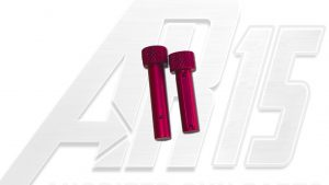 Pink Anodized AR15 Pins