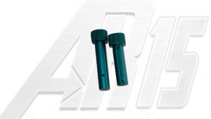 Teal Anodized AR15 Pins