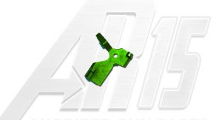 Green Anodized AR15 Extended Bolt Catch