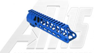 Black AR15 Anodized Enforcer 7 Inch Hand Guard Rail