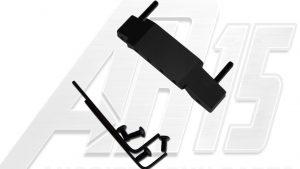 Black Anodized AR15 Enhanced Trigger Guard