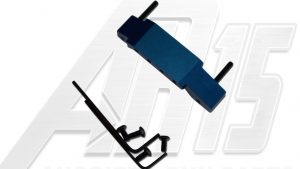 BLue Anodized AR15 Enhanced Trigger Guard