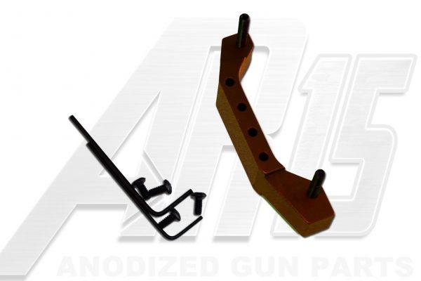 Orange Anodized AR15 Enhanced Trigger Guard