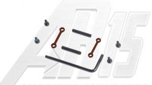 AR15 / AR10 Camo Brown Anodized Anti Walk Hammer Trigger Pins