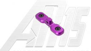 Blood Moon Purple Anodized AR15 Keymod Bipod Adaptor