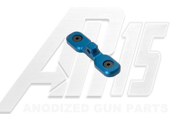 Blue Anodized AR15 Keymod Bipod Adaptor