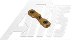 Camo Brown Anodized AR15 Keymod Bipod Adaptor