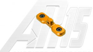 Orange Anodized AR15 Keymod Bipod Adaptor