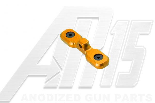 Orange Anodized AR15 Keymod Bipod Adaptor