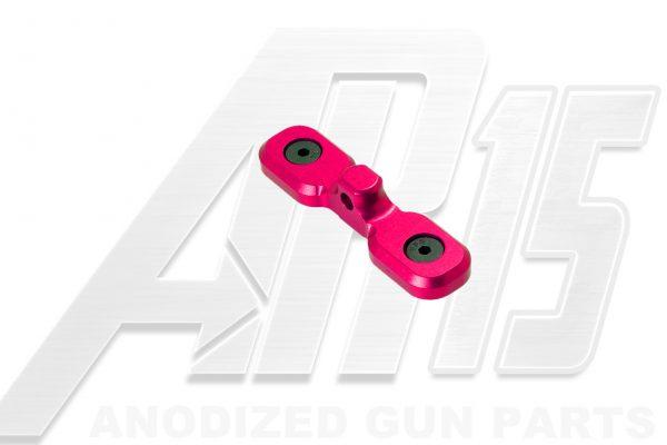 Pink Anodized AR15 Keymod Bipod Adaptor