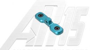 Teal Anodized AR15 Keymod Bipod Adaptor