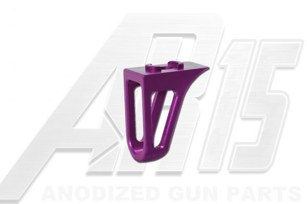 Blood Moon Purple Anodized AR15 Low Profile Hand Stop