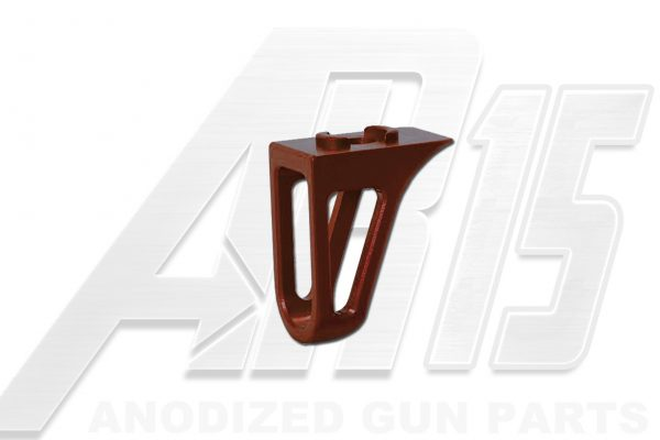 Camo Brown Anodized AR15 Low Profile Hand Stop