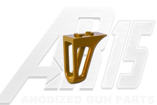 Orange Anodized AR15 Low Profile Hand Stop