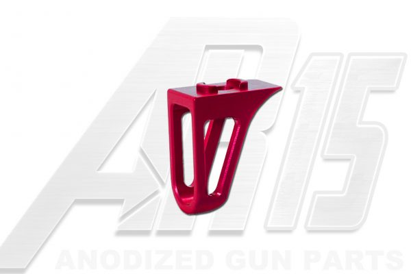 Pink Anodized AR15 Low Profile Hand Stop