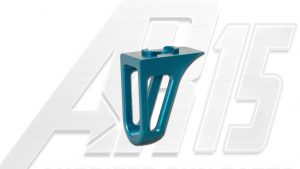 Teal Anodized AR15 Low Profile Hand Stop