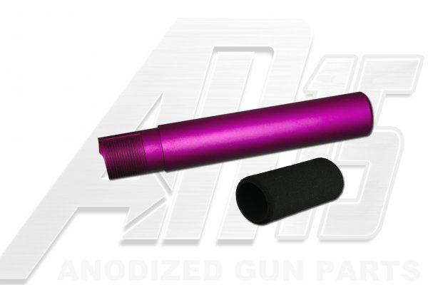 Blood Moon Purple Anodized AR15 / M16 / M4 Pistol Size Buffer Tube