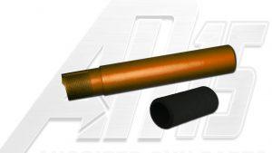 Orange Anodized AR15 / M16 / M4 Pistol Size Buffer Tube
