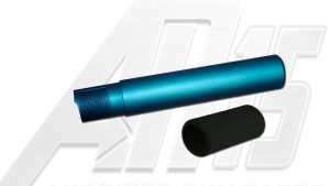 Teal Anodized AR15 / M16 / M4 Pistol Size Buffer Tube