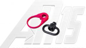 Pink Anodized AR15 QD End Plate