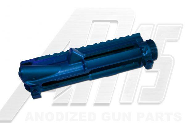 Blue Anodized AR15 Upper Receiver