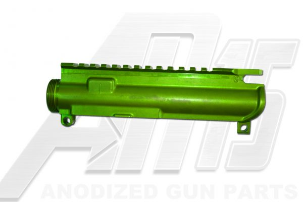 Green Anodized AR15 Upper Receiver