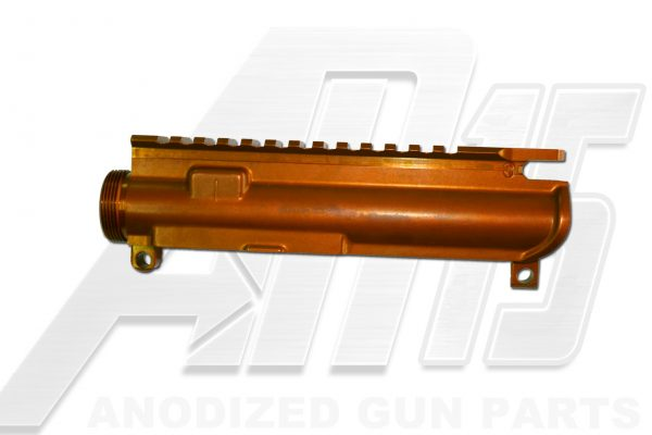 Orange Anodized AR15 Upper Receiver