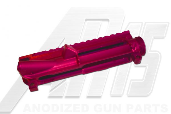 Pink Anodized AR15 Upper Receiver