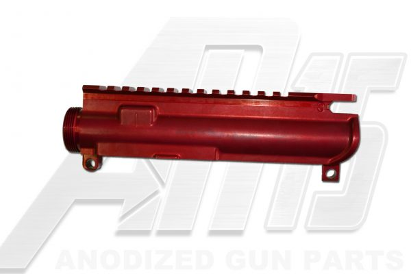 Red Anodized AR15 Upper Receiver