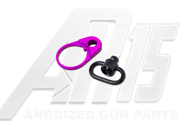 Blood Moon Purple Anodized AR15 QD End Plate