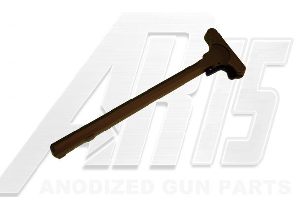Camo Brown Anodized AR15 Charging Handle