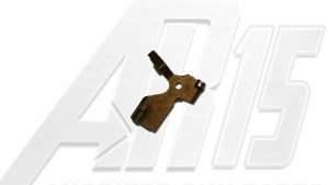 Camo Brown Anodized AR15 Extended Bolt Catch