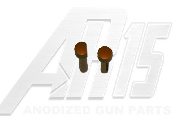 Camo Brown Anodized AR15 Pins