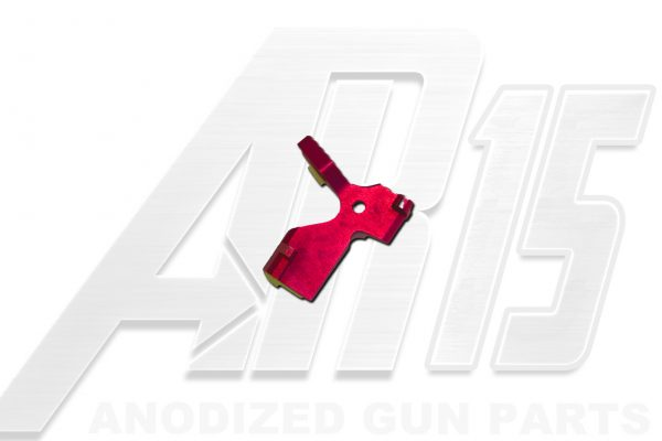 Pink Anodized AR15 Extended Bolt Catch