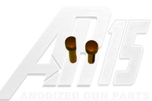 Orange Anodized AR15 Pins