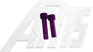 Blood Moon Purple Anodized AR15 Pins