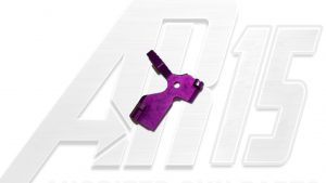 Purple Anodized AR15 Extended Bolt Catch