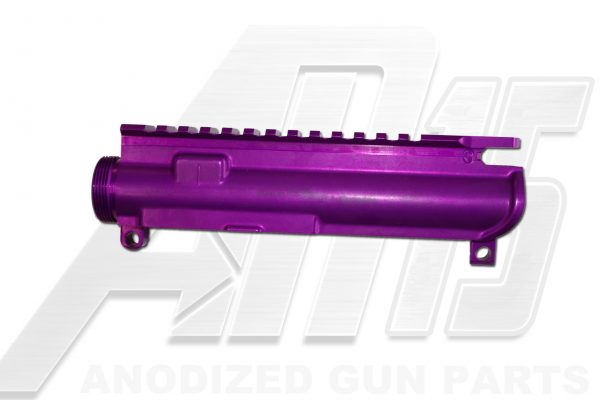 Blood Moon Purple Anodized AR15 Upper Receiver