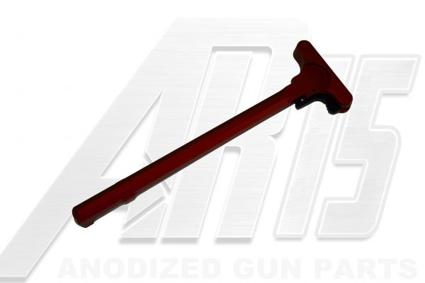 Red Anodized AR15 Charging Handle