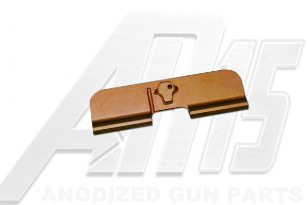 Camo Brown Anodized AR15 Ejection Port Dust Cover