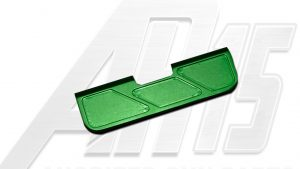 Green Anodized AR15 Ejection Port Dust Cover